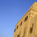 Minaret And Exterior Of The Al-hussein Mosque by Sami Sarkis