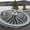 Mine Shaft Wheel by Richard Mitchell