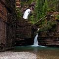 Mineral Creek Falls by Steve Stuller