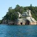 Miner's Castle On The Water by Linda Kerkau