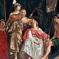 Minerva Crowns The Maid Of Leiden by Abraham van den Tempel