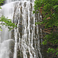 Mingo Falls Closeup by Jill Lang