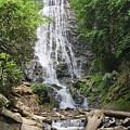Mingo Falls In North Carolina by Jill Lang