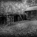 Mingus Mill Black And White by David Morefield