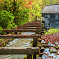Mingus Mill Flume by Andy Crawford