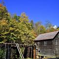 Mingus Mill In North Carolina by Jill Lang