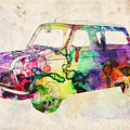 MIni Cooper Urban Art by Michael Tompsett