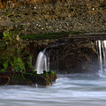 Mini Falls Laguna Beach by Brad Scott
