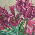 Mini-tulip Bouquet - 8 by Caron Sloan Zuger
