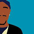 Minimalist Tupac by Karissa Tolliver