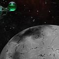 Mining Operation Deep Space by David Lane