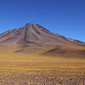 Miniques Volcano And High Altitude Desert Chile by James Brunker