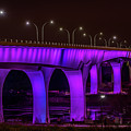 Minneapolis In Purple 6 by Bill Pohlmann