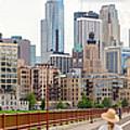 Minneapolis Milling District by Mike Evangelist