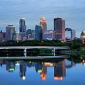 Minneapolis Reflections by Rick Berk