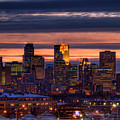 Minneapolis Skyline by Shawn Everhart