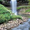 Minnehaha Falls Downstream by Kristin Elmquist