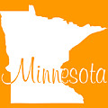 Minnesota In White by Custom Home Fashions