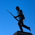 Minnesota Soldier Monument At Gettysburg by John Greim