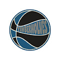 Minnesota Timberwolves Retro Shirt by Joe Hamilton