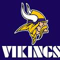 Minnesota Vikings by Mitro Dente