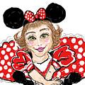 Minnie Mouse by Geraldine Myszenski
