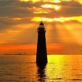 Minot's Ledge Lighthouse by Joseph Gillette
