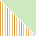 Mint And Gold Geometric by Linda Woods