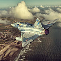 Mirage 2000 Heading Home by Peter Scheelen