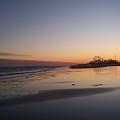 Mirror Reflection Beach Surf by Eric  Schiabor