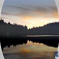Mirrored Lake by Shirley Heyn