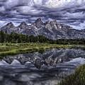 Mirrored Mountains by Elizabeth Eldridge