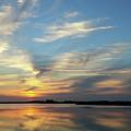 Mirrored Sunset by Liza Eckardt