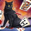 Mischief Kitten by Melissa A Benson