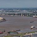 Miss River, Bridges, Ferries, Traffic by Gregory Daley  MPSA