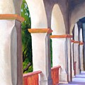 Mission Arches by Dorothy Nalls