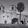 Mission Concepcion -- Bw by Stephen Stookey