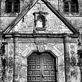 Mission Concepcion Front - Classic Bw by Stephen Stookey