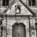 Mission Concepcion - Bw Toned Border by Stephen Stookey