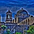 Mission San Jose San Antonio by Rod Cuellar