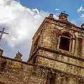 Mission Concepcion Tower by Joan Carroll