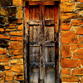 Mission Door by Perry Webster