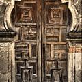 Mission Espada Door - 2 by Stephen Stookey