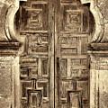 Mission Espada Door - 4 by Stephen Stookey