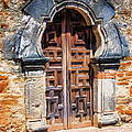 Mission Espada Door by Joan Carroll