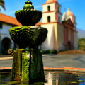 Mission Fountain by Perry Webster