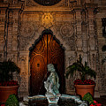 Mission Inn Chapel Fountain by Tommy Anderson