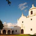 Mission Nuestra Senora Del Espiritu Santo De Zuniga At Sunset - Goliad Coastal Bend Texas by Silvio Ligutti