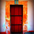Mission Red Door by Perry Webster