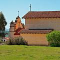 Mission San Antonio De Padua, Jolon, California by Denise Strahm